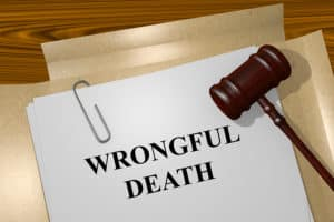 illustration of Wrongful Death title on Legal Documents